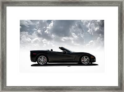 I Take Mine Black Framed Print by Douglas Pittman