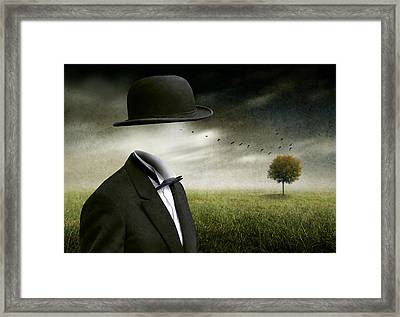 I Think, I'm A Dreamer Framed Print