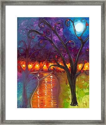I Think We're Alone Now Framed Print by Jessilyn Park