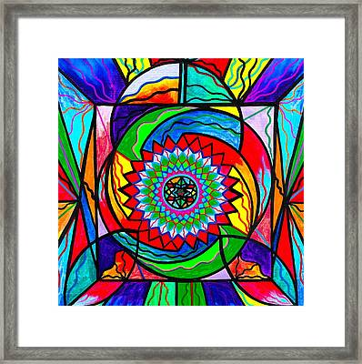 I Trust Myself To Create Framed Print by Teal Eye  Print Store