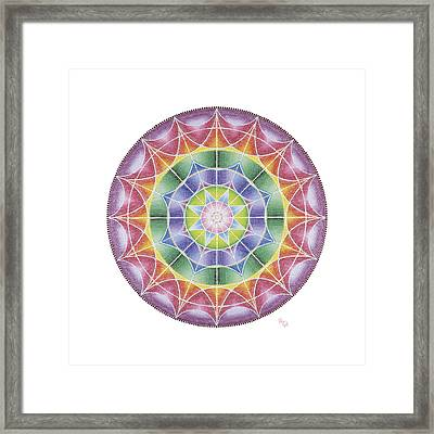 I Wait For You In The Heart Framed Print by Vanda Omejc