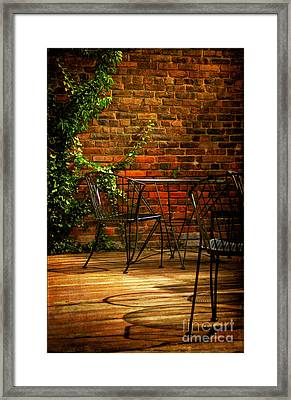 I Waited For You Framed Print