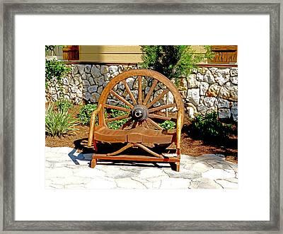I Want My Wheel Back Framed Print by Dennis Dugan