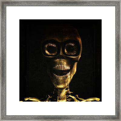 I Want To Be Your Friend Framed Print by Ramon Martinez