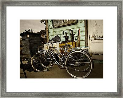 I Want To Ride My Bicycle 2 Framed Print