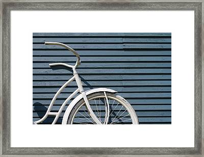 I Want To Ride My Bicycle Framed Print by Chuck De La Rosa