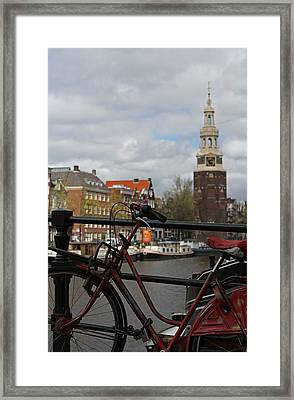 I Want To Ride My Bicycle  Framed Print by Juergen Roth