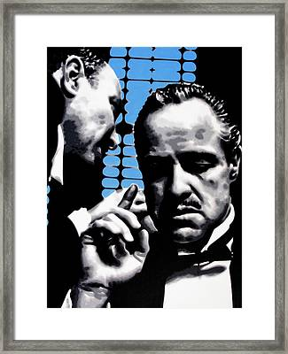 I Want You To Kill Him Framed Print by Luis Ludzska