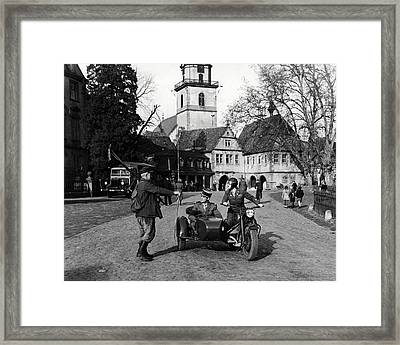 I Was A Male War Bride  Framed Print by Silver Screen