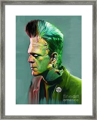 I Was A Punk Before You Framed Print by Marco Machatschke