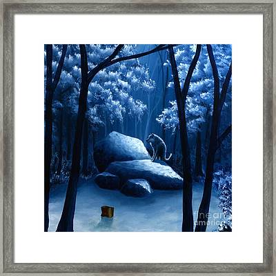 I Was Here Before You 3 Framed Print