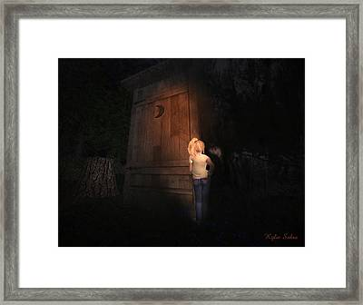 I Was Six Framed Print by Kylie Sabra