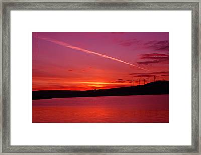 I Was Thinking About You Framed Print by Jeff Swan