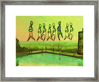 I Wasn T Born To Follow Framed Print by Mojo Mendiola