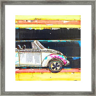 I Wear My Sunglasses At Night Framed Print by Danny Phillips