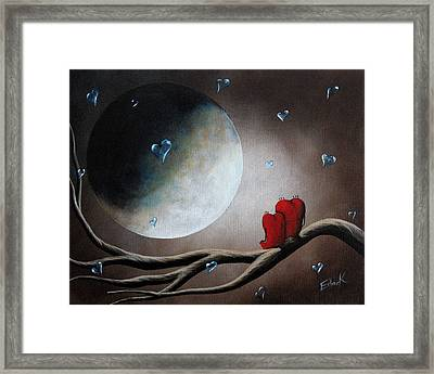 I Will Always Be Beside You By Shawna Erback Framed Print by Shawna Erback