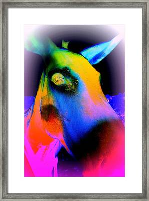 I Will Always Be Blue When I Think About You  Framed Print