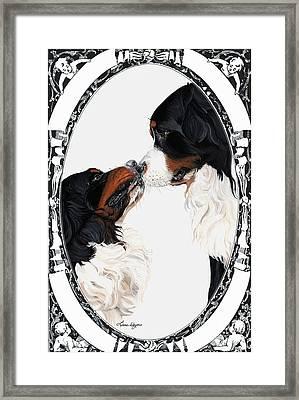 I-will-always-love-you  Framed Print