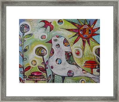 I Will Carry You Framed Print by Shannon Crandall