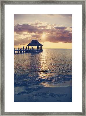 I Will Feel Eternity Framed Print by Laurie Search