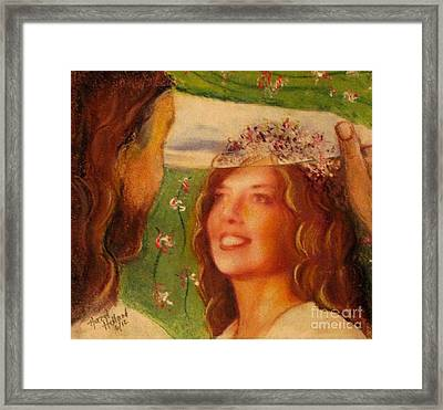 I Will Lift The Veil Framed Print
