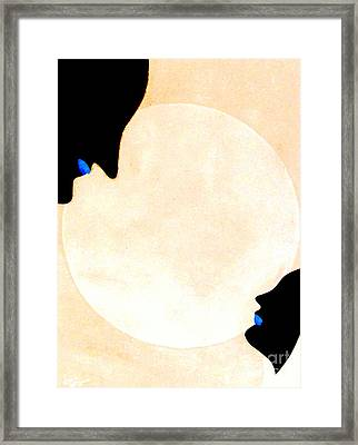 Framed Print featuring the painting I Will Love You Forever by Bill OConnor