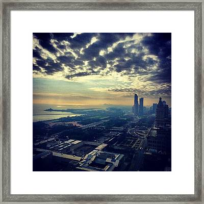 I Will Never Get Tired Of This View Framed Print