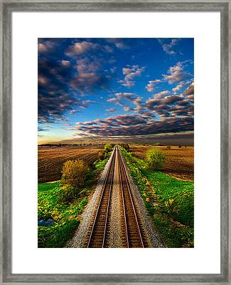 I Will Return Framed Print