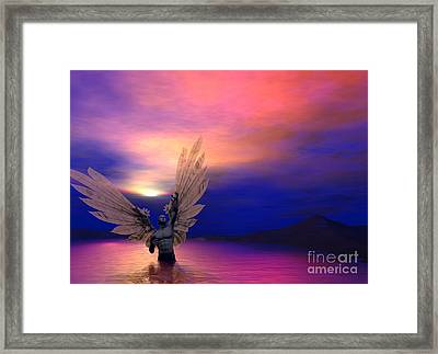 I Will Rise Again Framed Print by Sipo Liimatainen