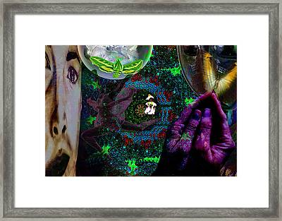 I Will See You Through Oz Framed Print