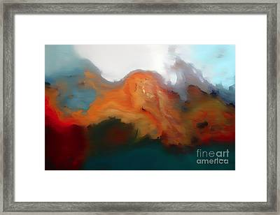 I Will Trust In You. Psalm 56 3- Painting With Light Framed Print by Mark Lawrence