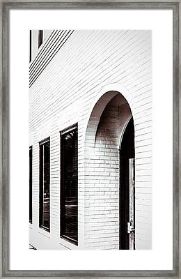 I Woke Up In A Soho Doorway Framed Print by Wade Brooks