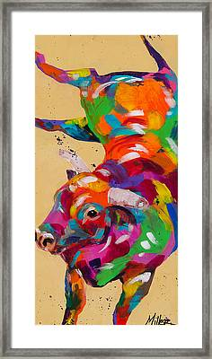 I Won Framed Print by Tracy Miller