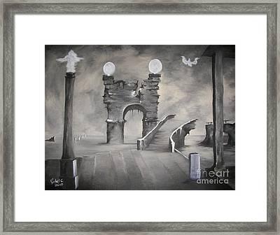 I Wont Cross That Bridge Again Framed Print