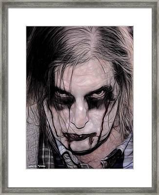 I Zombie Framed Print by Jon Volden