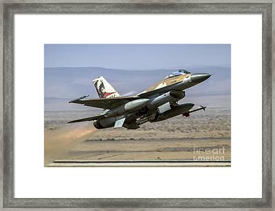Iaf F-16a Framed Print
