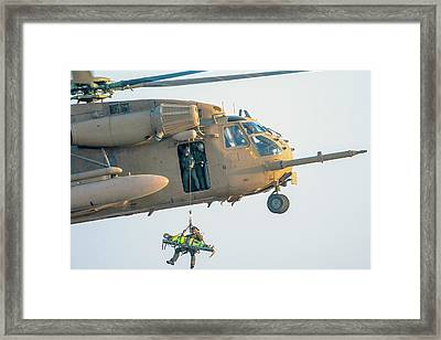 Iaf Sikorsky Ch-53 Helicopter Framed Print by Photostock-israel