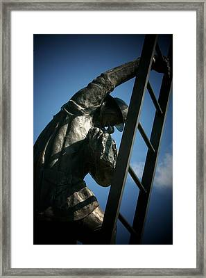 Iaff Fallen Firefighters Memorial  2 Framed Print