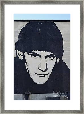 Ian Mackaye Framed Print by Allen Beatty