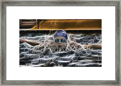 Framed Print featuring the photograph IB2 by Lee Dos Santos