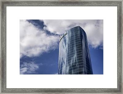 Iberdrola Tower Framed Print by Pablo Lopez