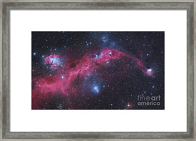 Ic 2177, The Seagull Nebula Framed Print by Robert Gendler