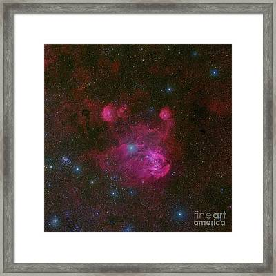 Ic 2944, A Large H II Region Framed Print by Robert Gendler