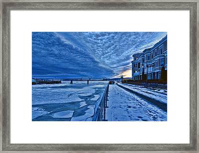 Ice Station Hudson Framed Print