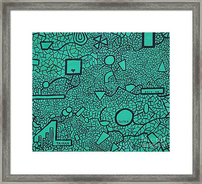 Ic By Taikan Framed Print by Taikan Nishimoto