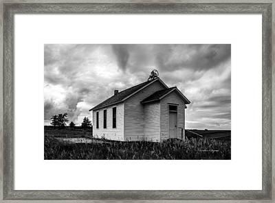 Icarian Schoolhouse Framed Print