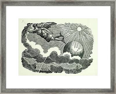 Icarus Framed Print by British Library