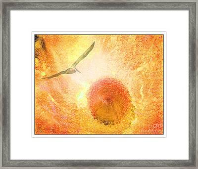 Icarus Framed Print by Mariarosa Rockefeller