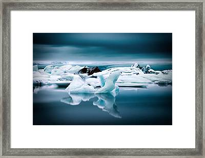 Ice Age Framed Print by Ian Good