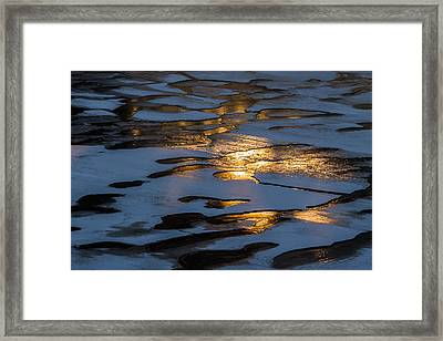 Ice And Fire - Featured 3 Framed Print by Alexander Senin
